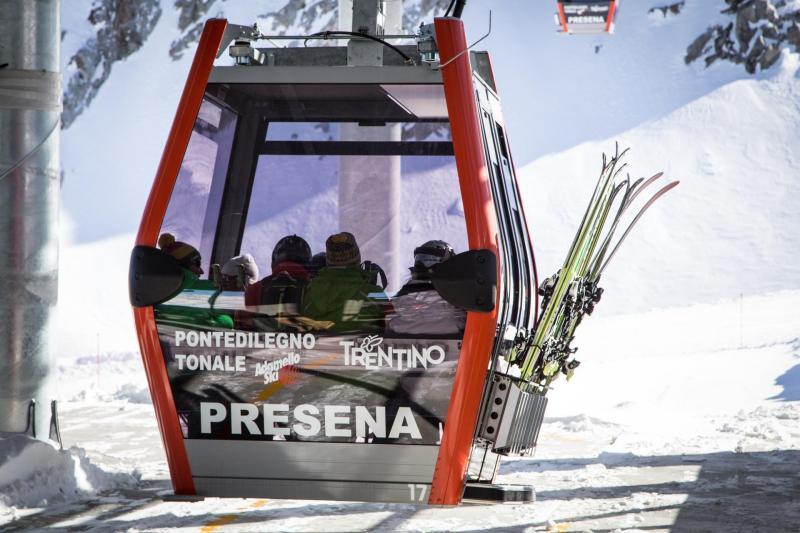 Cabinovia Presena in Val di Sole: paradiso durante le tue settimane bianche in Trentino!