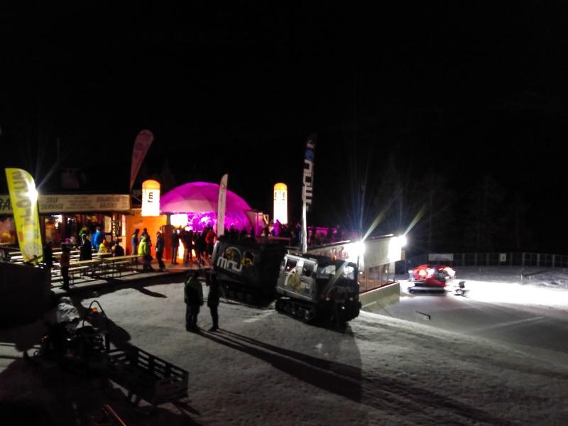 Après-Ski und Dienste in den Bergen