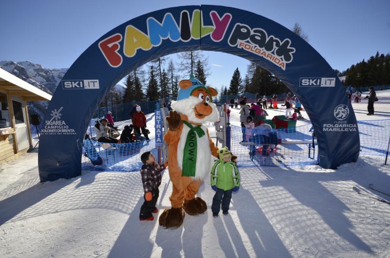 Famiy Park Folgarida: paradiso per la vacanza sci in Italia in famiglia!